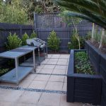 Vegetable planter in Caulfield garden design makeover