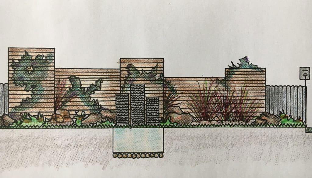 Ivanhoe garden design plan by Parveen Dhaliwal of Inspiring Landscape Solutions