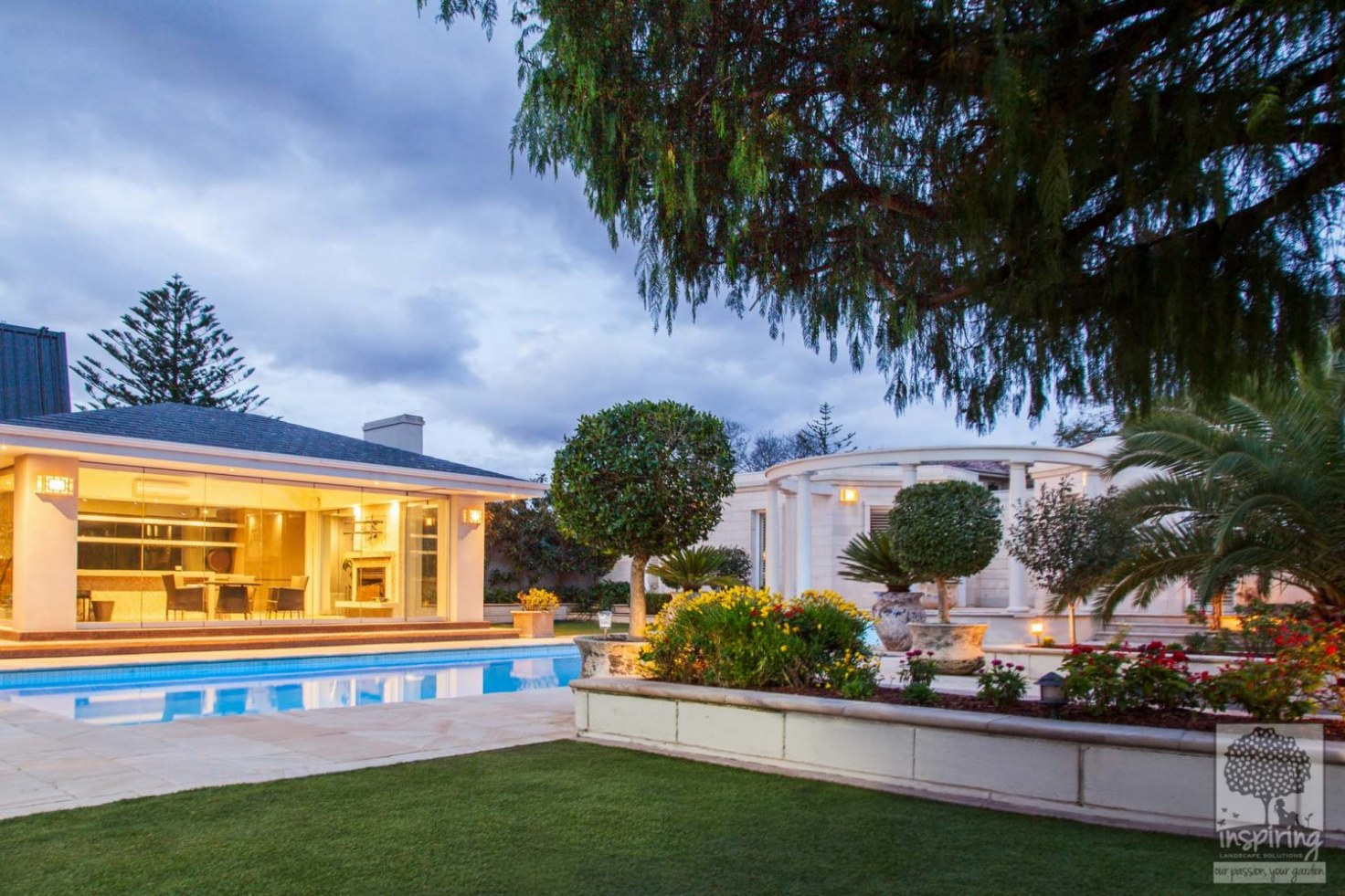 Melbourne garden rejuvenation on a Brighton property by Inspiring Landscape Solutions