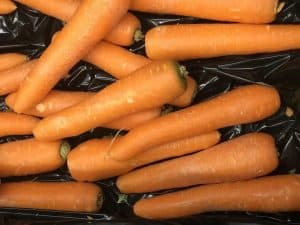 Picture of carrots for your productive garden landscape design