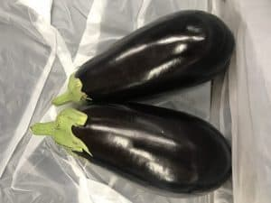 Picture of eggplant for your productive garden landscape design