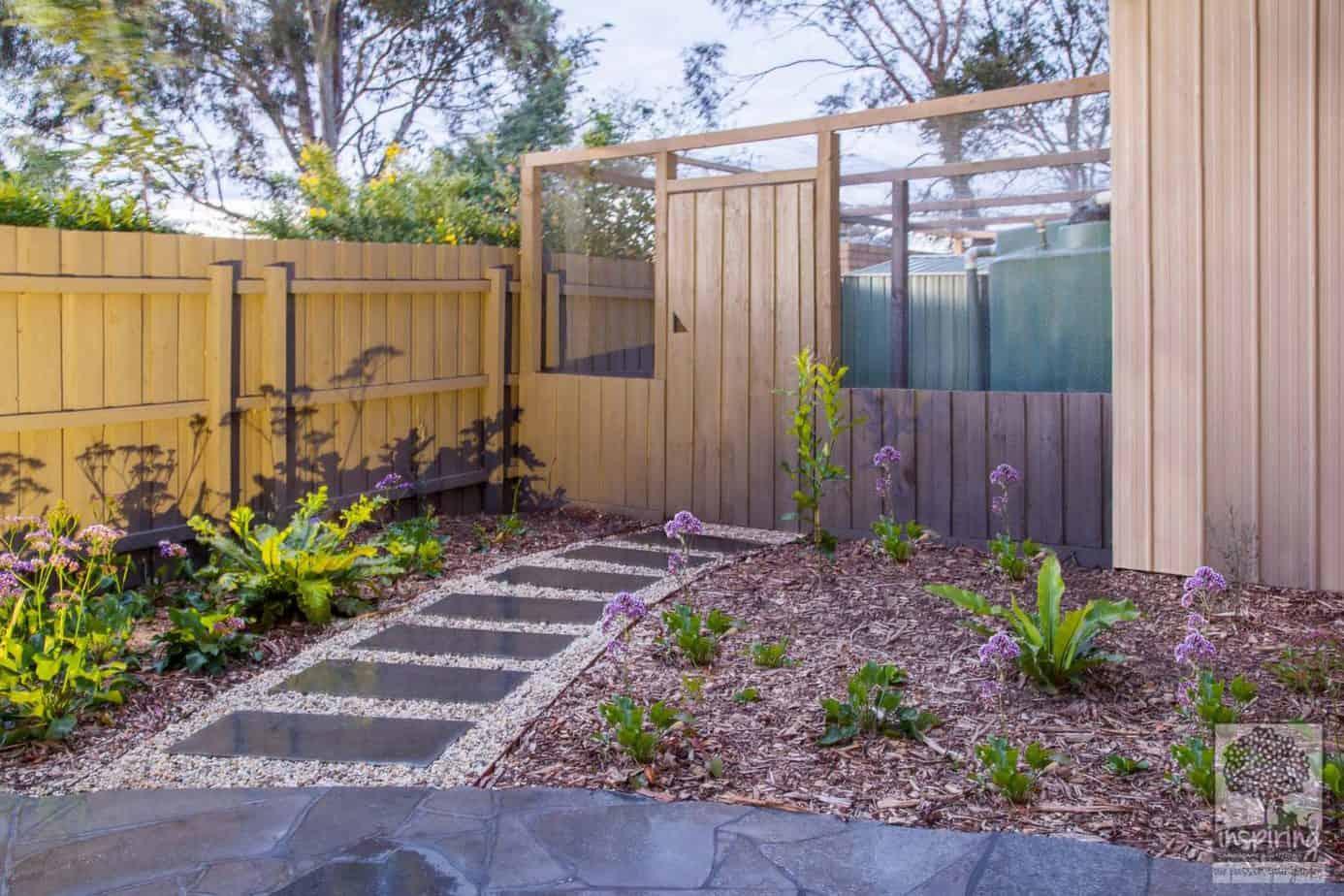 Huge chicken coop incorporated in Blackburn's garden design