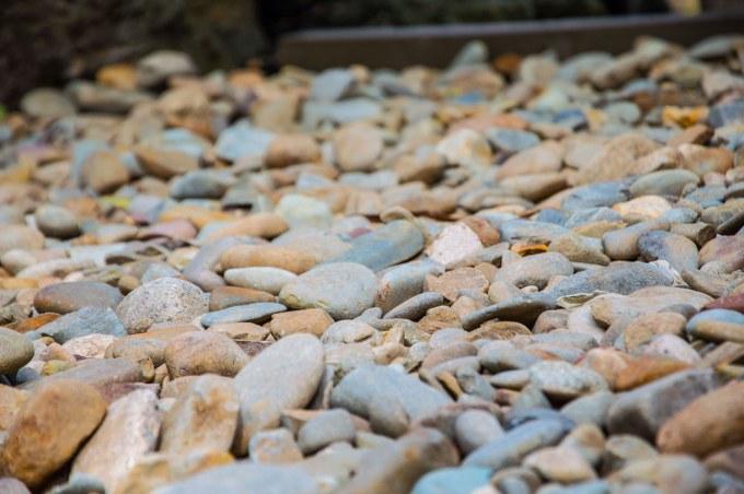 Brown pebbles for landscaping Melbourne