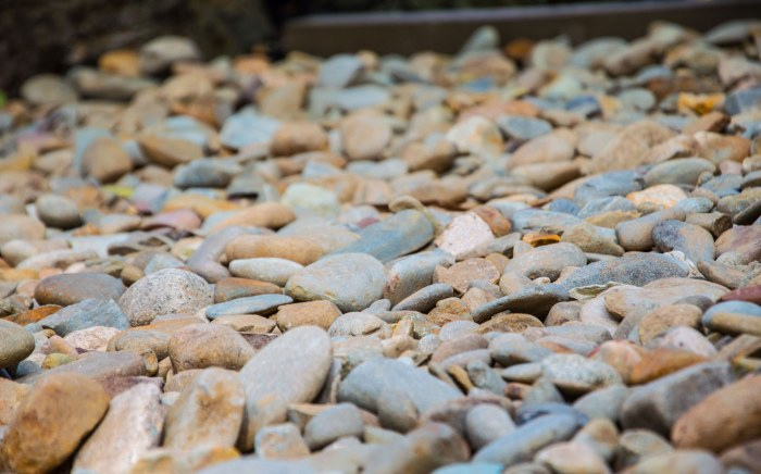 Brown pebbles for landscaping Melbourne